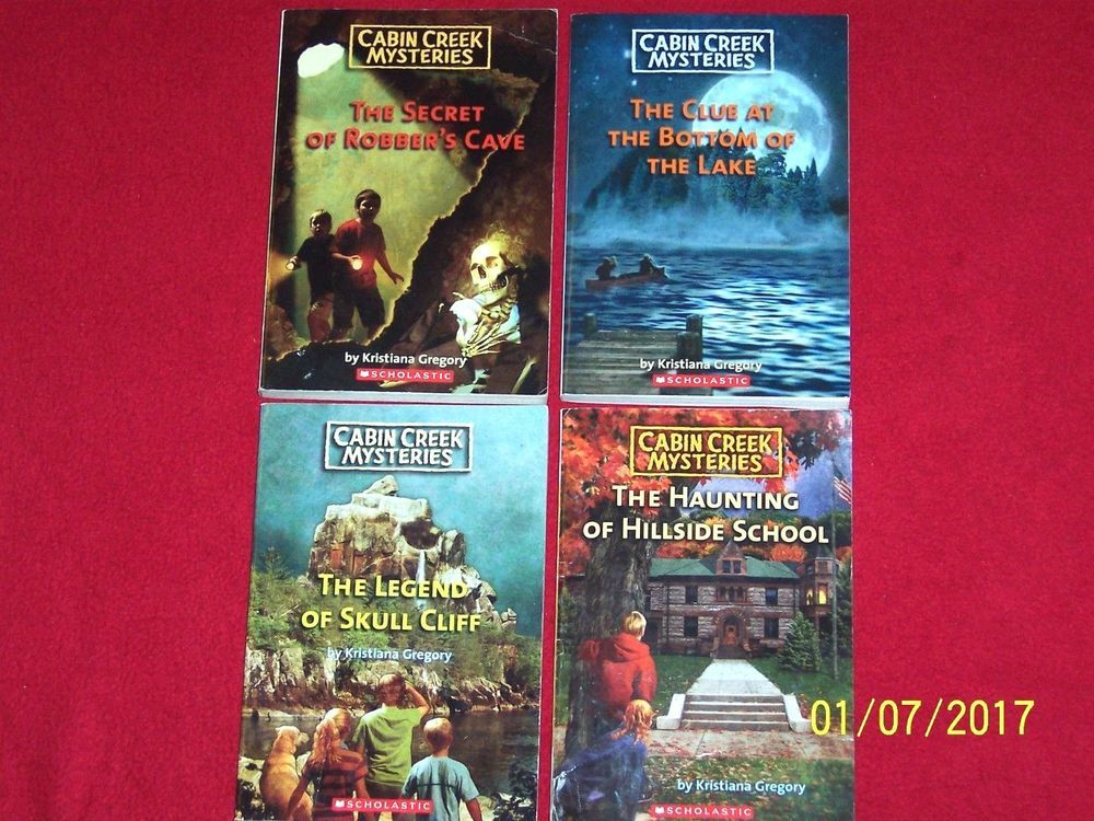 Lot 4 Cabin Creek Mysteries Christian Fiction Series Chapter Books Ages 7 10