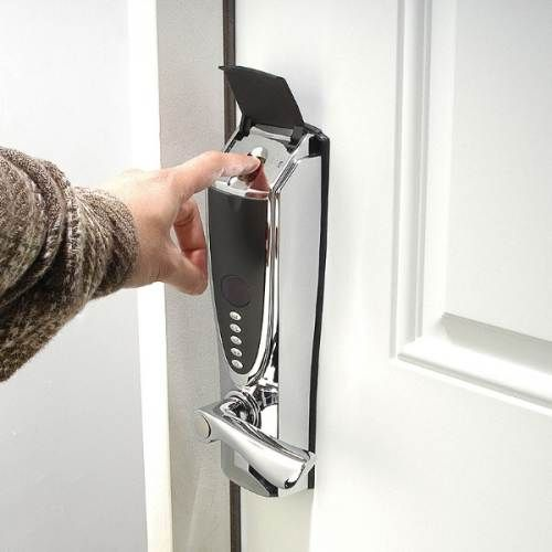 gift for the father biometric fingerprint door lock enter your home or business by simply placing your fingerprint or pass code into the - Biometric Door Lock
