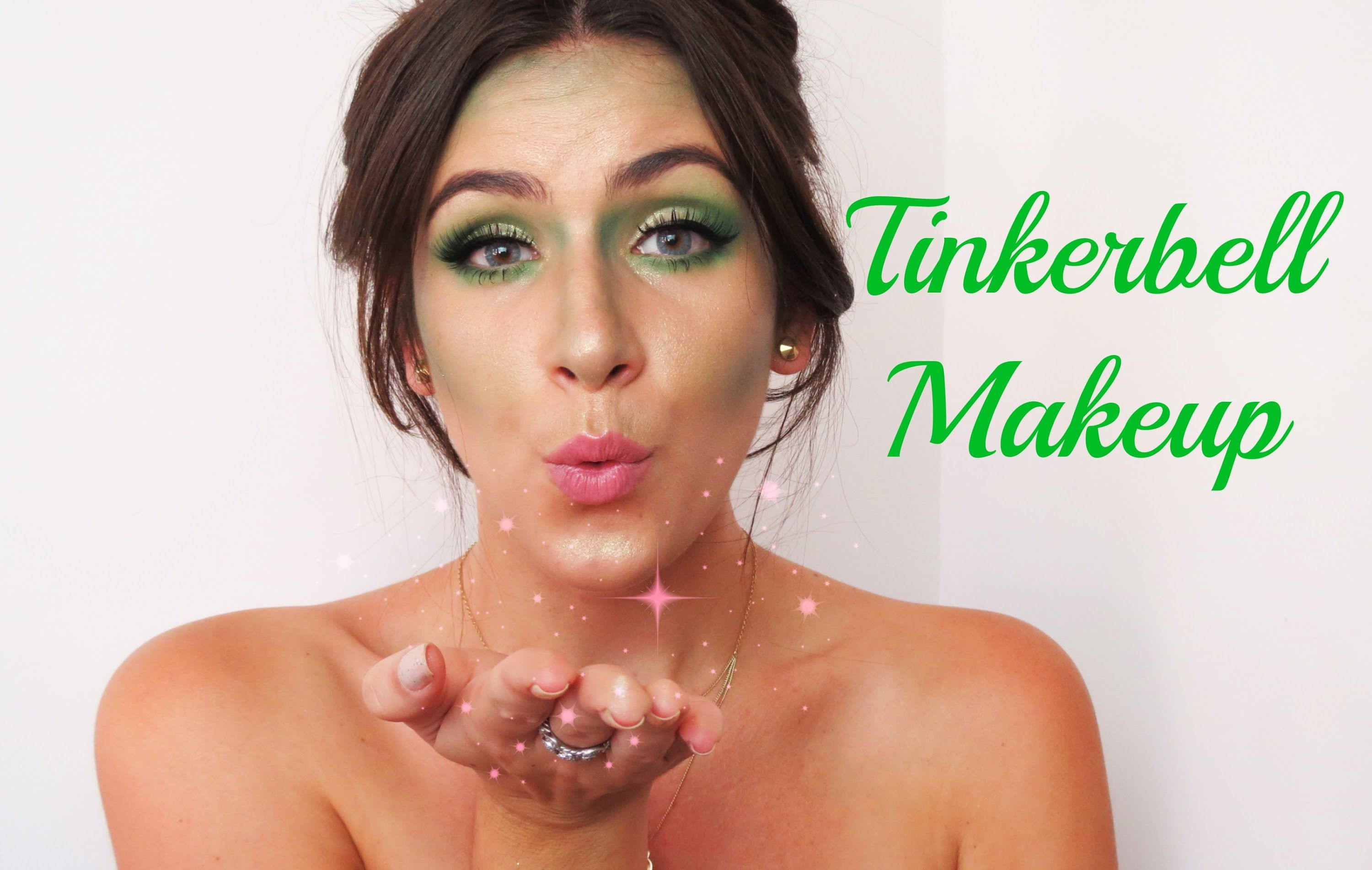 Tinkerbell makeup tutorial youtubeusergraytracyartistry tinkerbell makeup tutorial youtubeusergraytracyartistry subscribe baditri Image collections