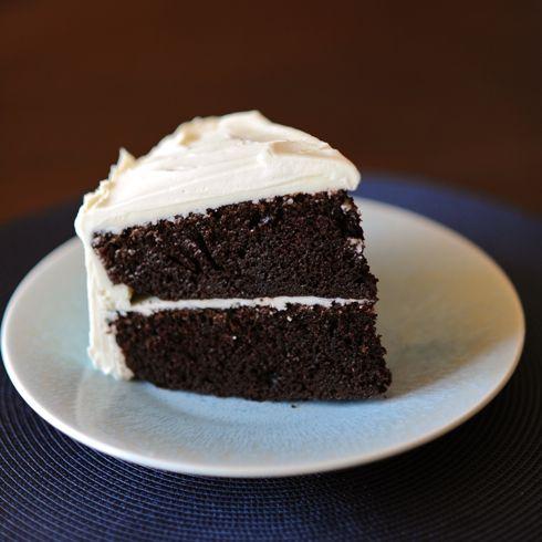 Chocolate Birthday Cake With Vanilla Frosting Recipe Vanilla