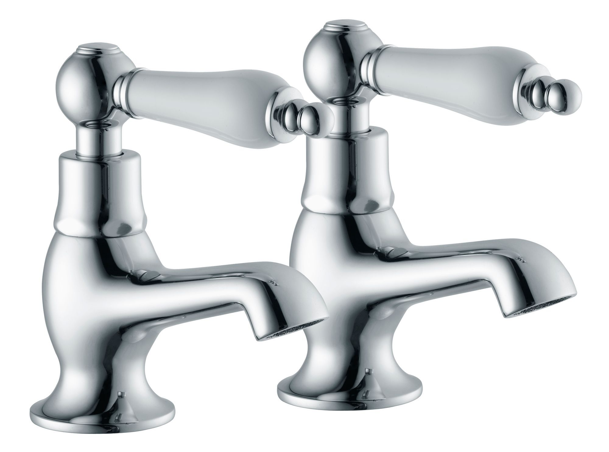 B q bathroom scales - Cooke Lewis Timeless Hot Cold Basin Pillar Tap