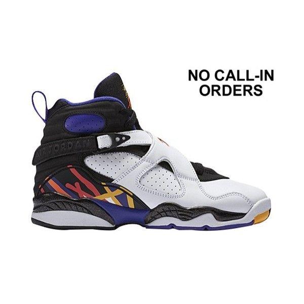 d276da94a937 Jordan Retro 8 Boys  Grade School ( 140) ❤ liked on Polyvore featuring  jordans and shoes