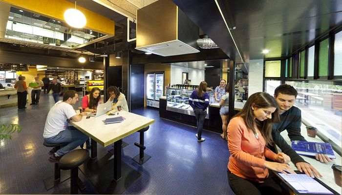 Deakin University Victoria Waurn Ponds Campus Cafe Is The