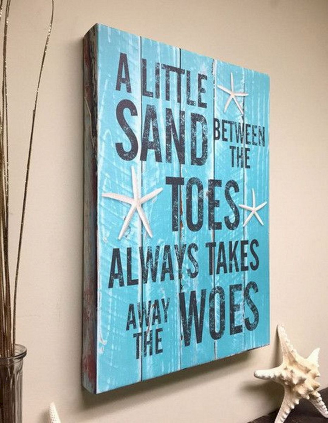 30 Most Wonderful Quotes Beach Bathroom Decor For Inspiration