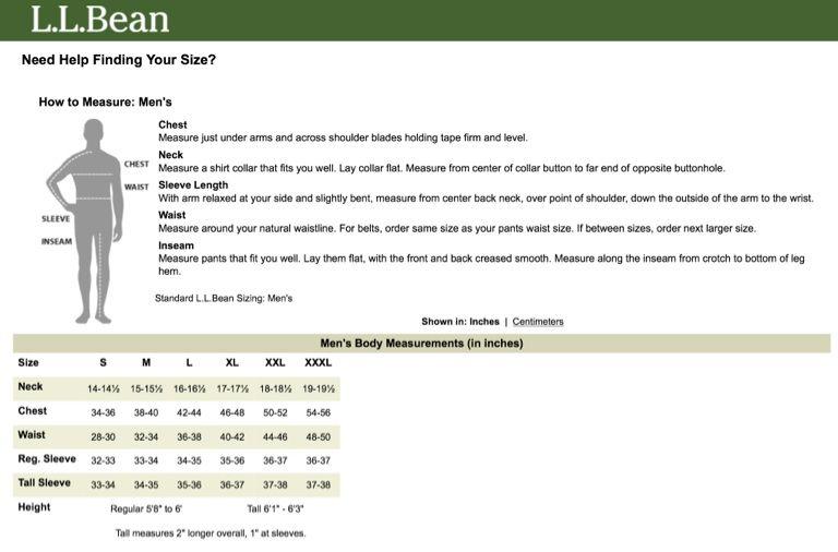 17d9c33c8002 Ll Bean Duck Boots Size Chart - L l bean boots the original duck ...