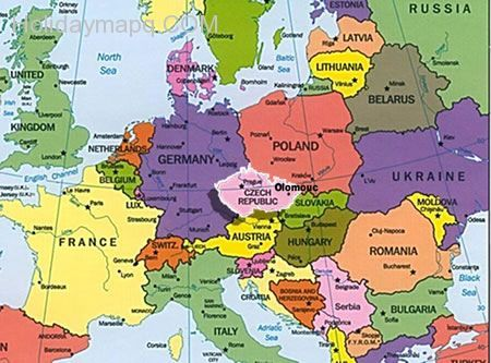 Current Map Of Europe Map Of Europe Current | Map Of Us Western States