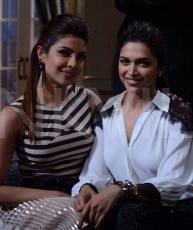 Couldnt Have Asked For A Better Partner Than Deepika Says Priyanka Chopra Deepika Padukone Bollywood Fashion Bollywood Celebrities