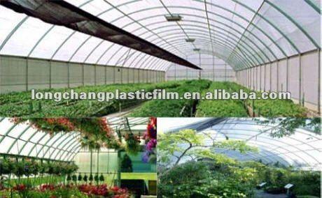 transparent color Greenhouse Poly stretch film $2100~$2470