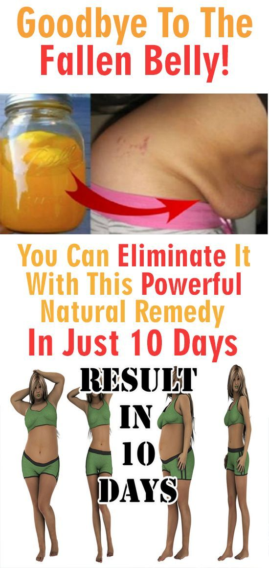 Many people are dealing with a sagging belly, especially after pregnancy or a rapid drop in weight. An unhealthy lifestyle can also contribute to a sagging belly – although it's difficult to remove, we have a simple remedy which will fix your belly in only 10 days!