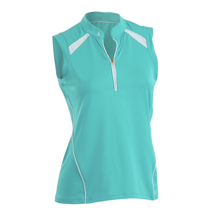 97ee9891d9dd7 Plus Size Nancy Lopez Sporty Sleeveless Golf Polo
