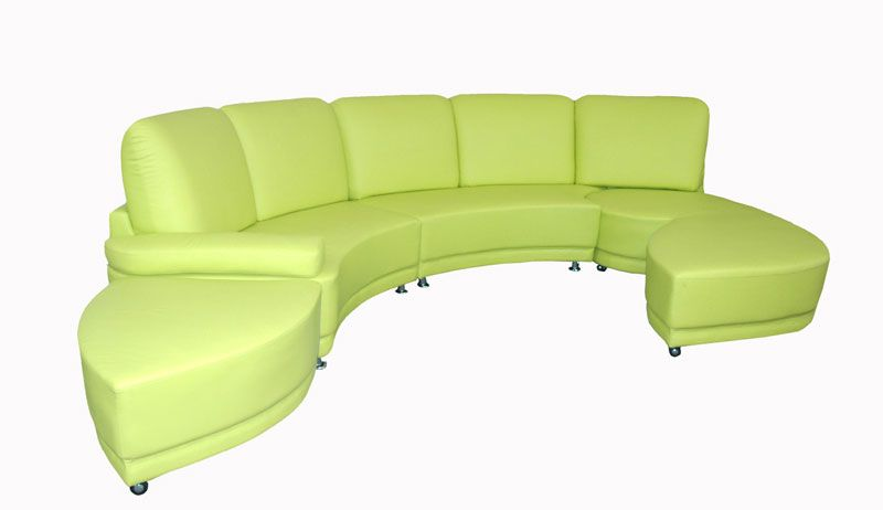 Lime Green Leather Sofa Lime Green Sofas Agendamacher Co