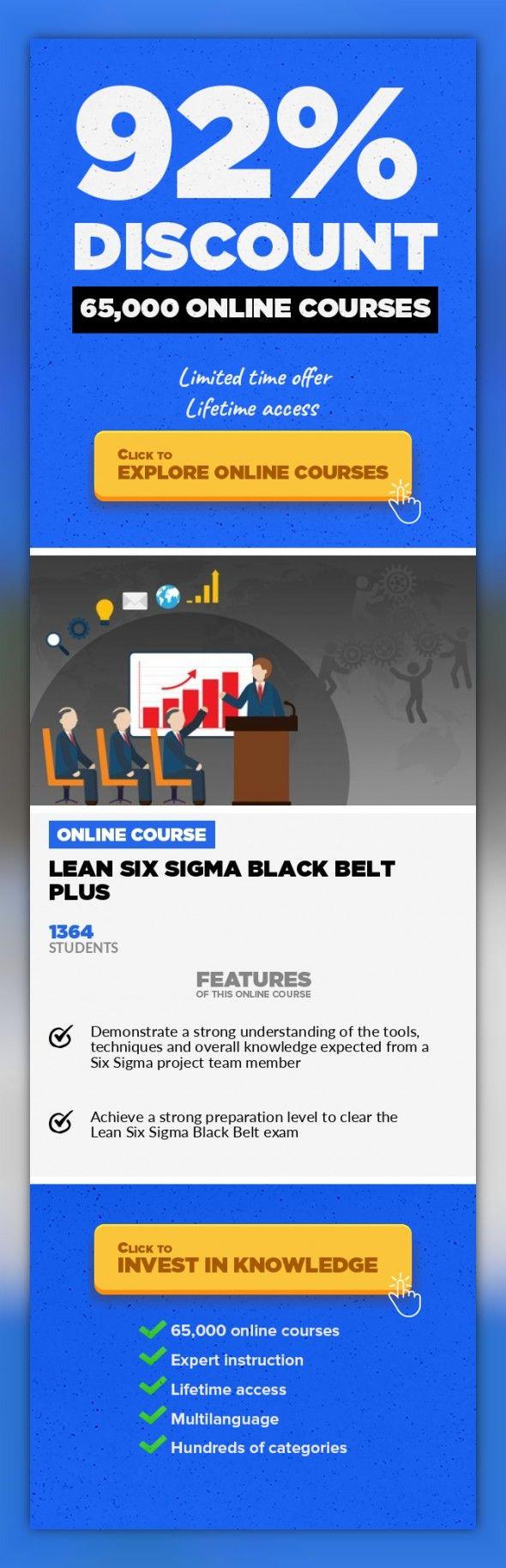 Lean Six Sigma Black Belt Plus Operations Business Onlinecourses