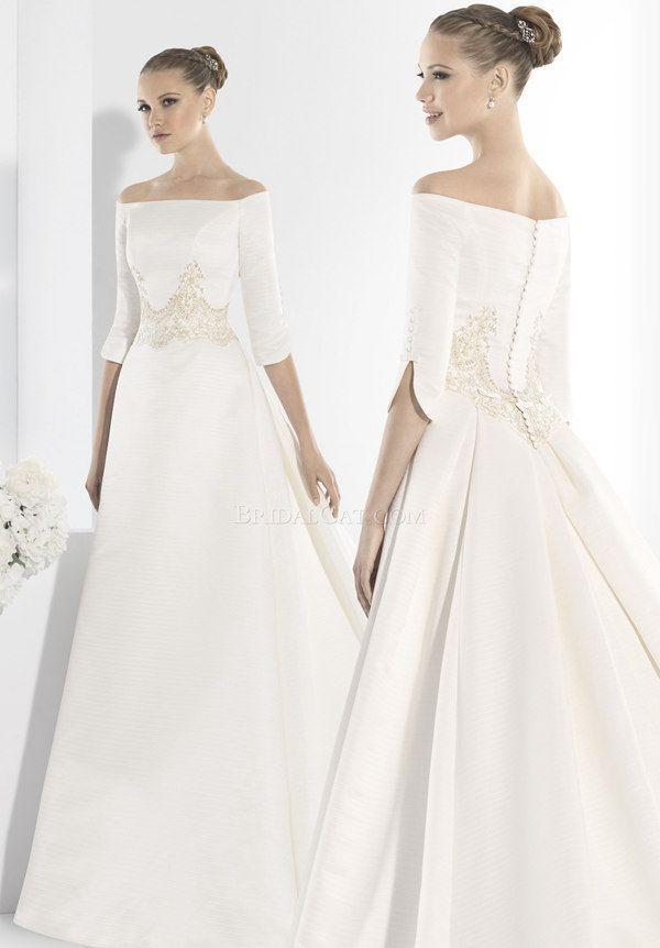 Wedding Dress Bohemian 3 4 Manu Alvarez 13 Floor Length Long Short Train Wedding Dress Boho Wedding Dr In 2020 Wedding Dresses Wedding Dress Train Plain Wedding Dress