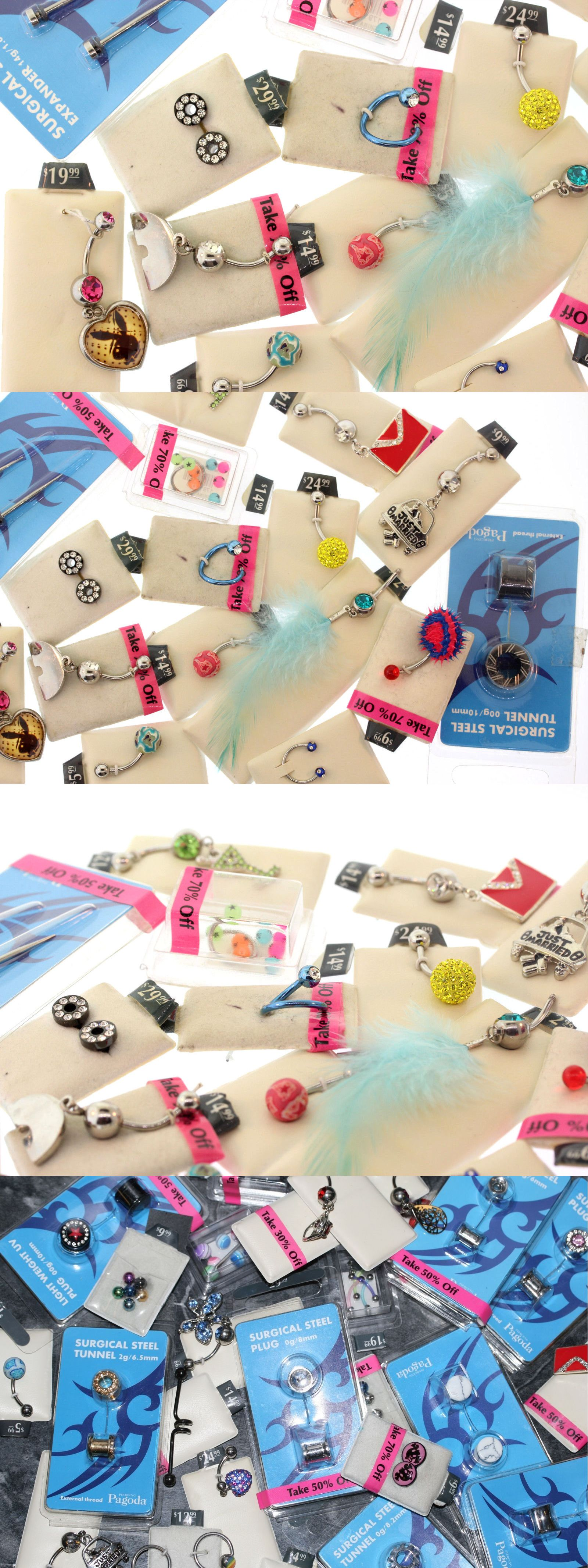 Nose ring without piercing flipkart  NWT pc Wholesale Lot Body Jewelry Belly Facial Lip Nose Rings