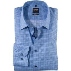 Photo of Olymp Level Five Shirt, körperbetont, extra langer Arm, Bleu, 44 Olymp