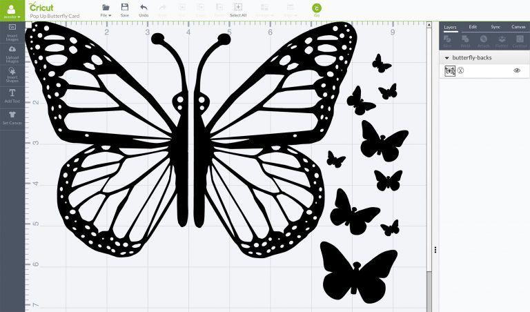Easy Butterfly Card Diy Pop Up Tutorial Jennifer Maker Butterfly Cards Pop Up Flower Cards Pop Up Card Templates