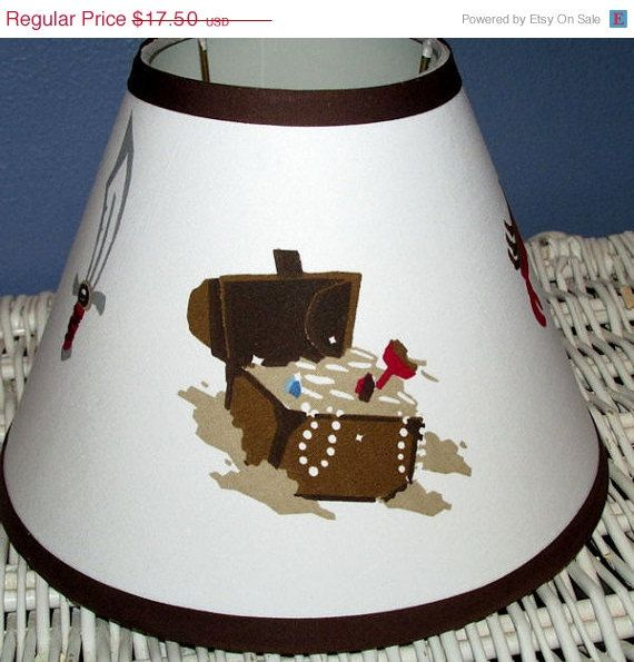 On Sale Lampshade M2m Target Pirate Circo Bedroom Boys Ship Treasure Map Lamp Shade Any Color Trim 4 Sizes Lamp Shade Pirate Lamp Lamp