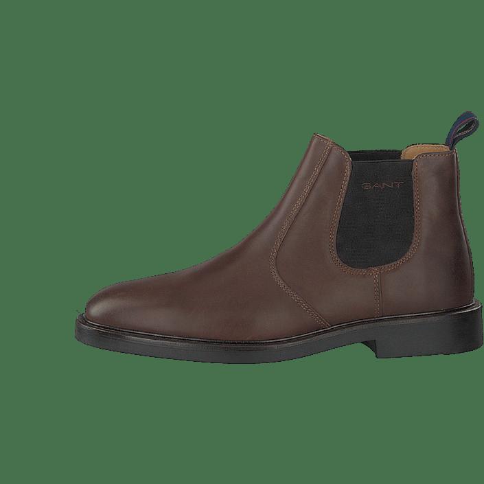 81df08b603 Spencer Chelsea Dark Brown | boots | Dark brown chelsea boots, Brown ...