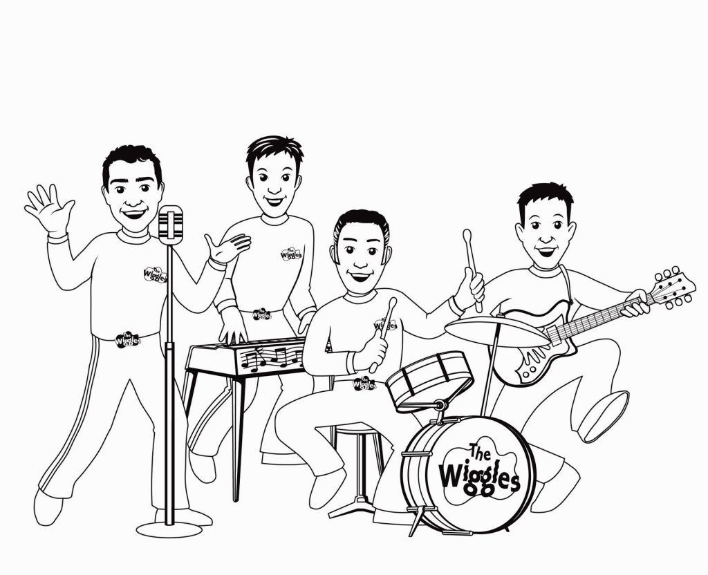 Wiggles Coloring Pages | Coloring Pages | Pinterest