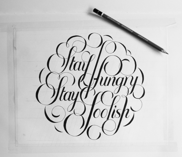Stay Humgry Stay Foolish - by Ben Johnston
