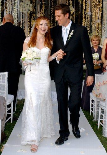 Celebrity Wedding Dresses Ireland : Celebrity wedding dresses alyson hannigan theme weddings