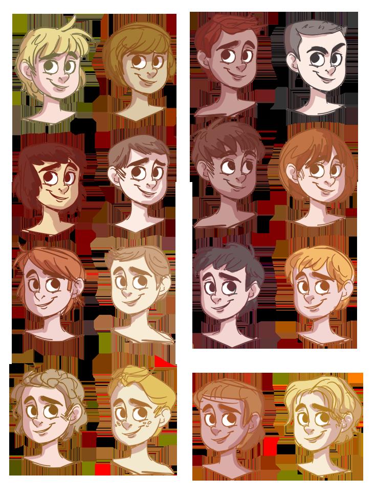 Hair Reference Art In 2019 Boy Hair Drawing Cartoon Drawings