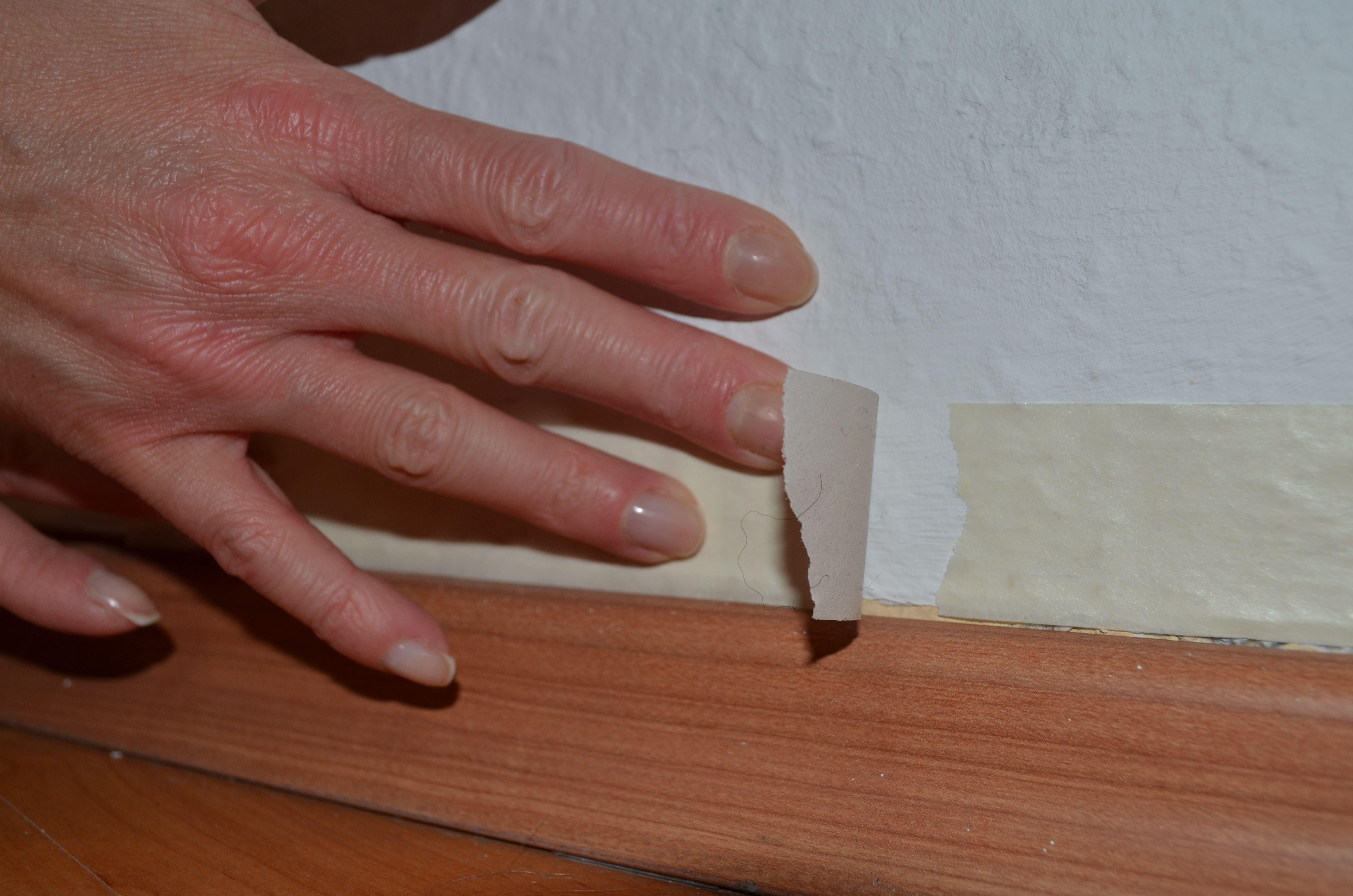 vorbereitungen treffen: wand abkleben teil 3 | alpina feine farben