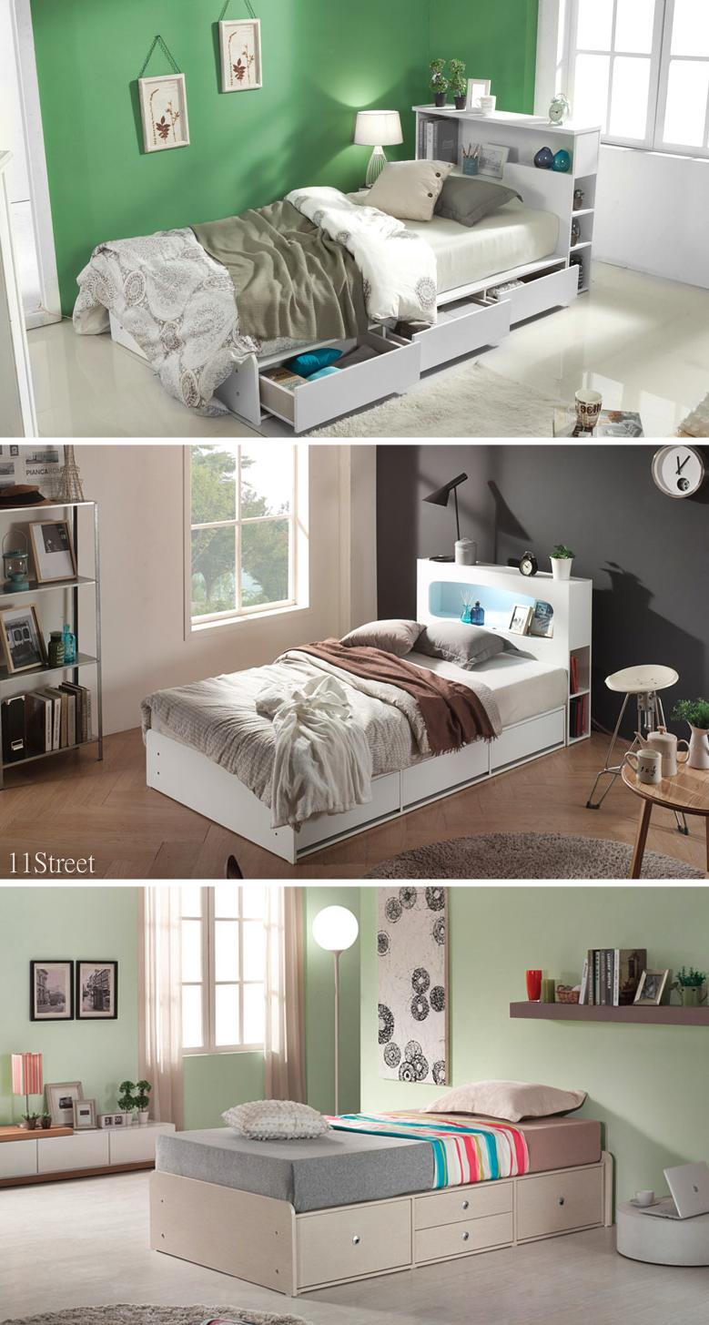 Super Single Bed Lissem 11street Singlebed Bed Design Modern Bed Designs With Storage Bed Design