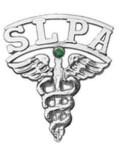 Speech Language Pathologist Assistant Graduation SLPA Pin