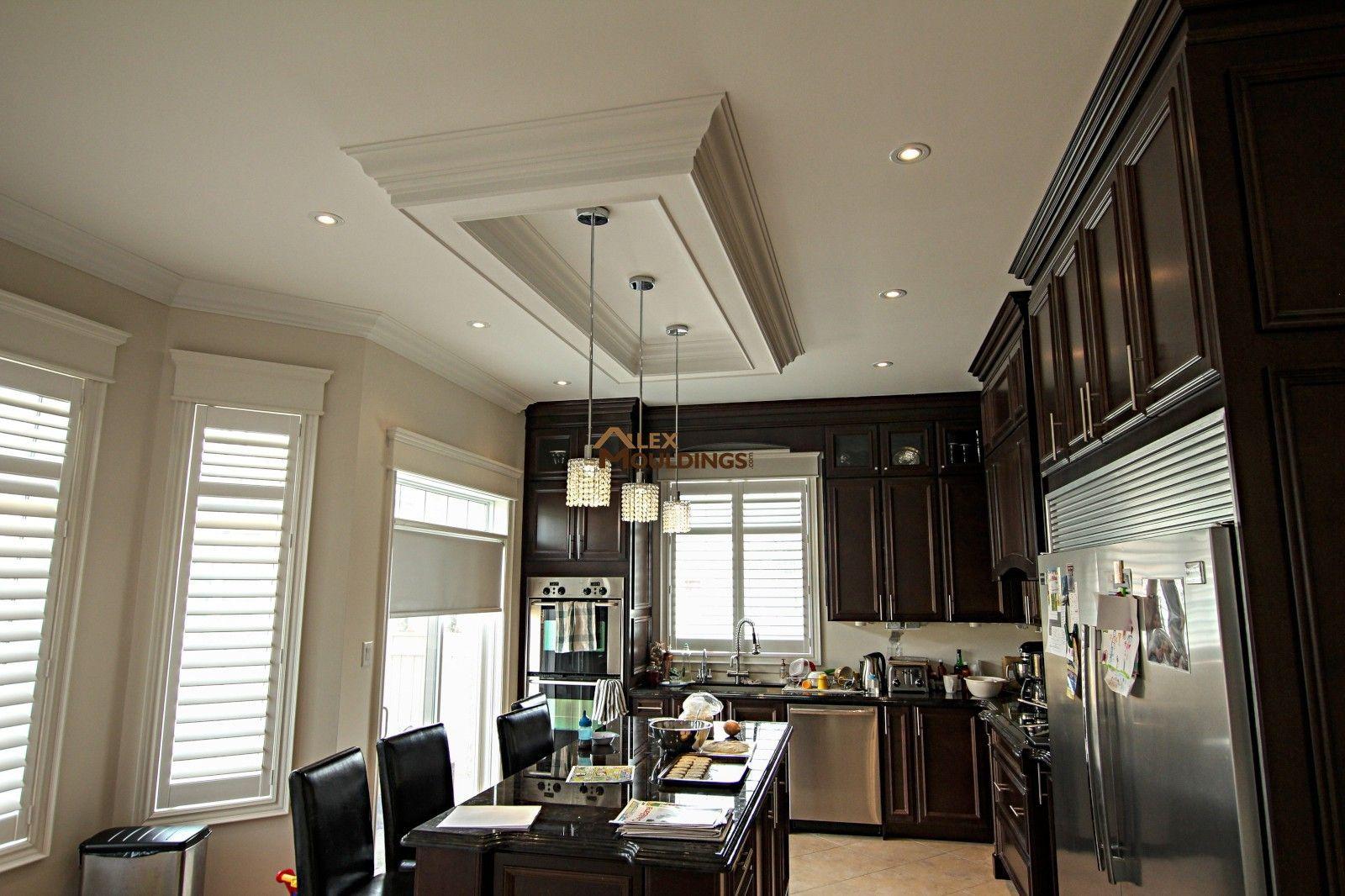coffer lighting. Kitchen Ceiling Box With Pendant Lights Coffer Lighting