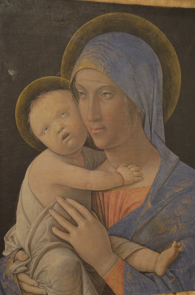 Бергамо. Академия Каррара. Андреа Мантенья. Мадонна с младенцем. 1475 г.
