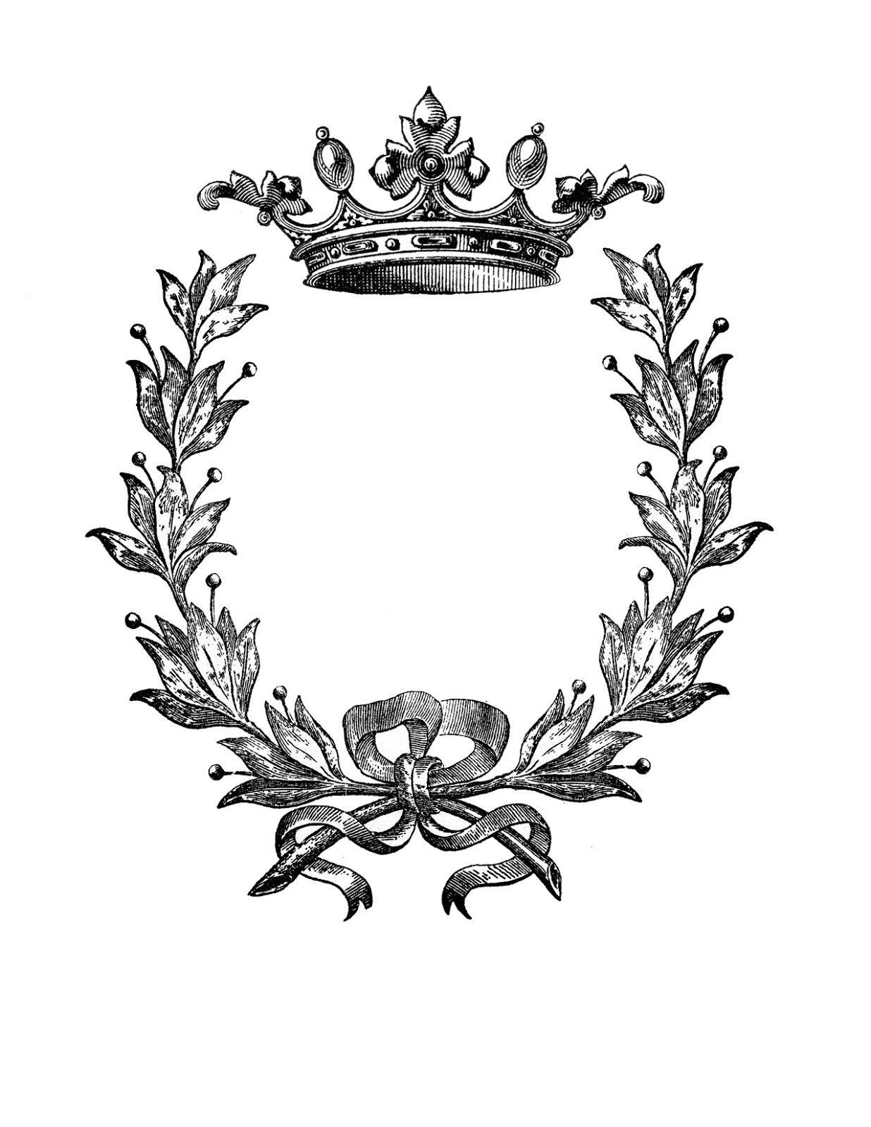 Crown wreath