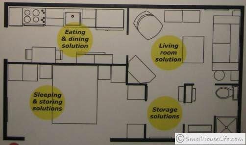 Ikea 400 Square Foot Home Ikea Small House 376 Square