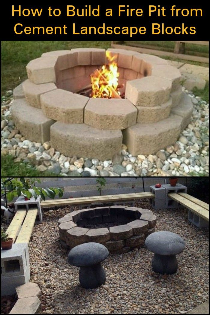Build a Low-Cost Yet Gorgeous Fire Pit in Your Backyard by ...