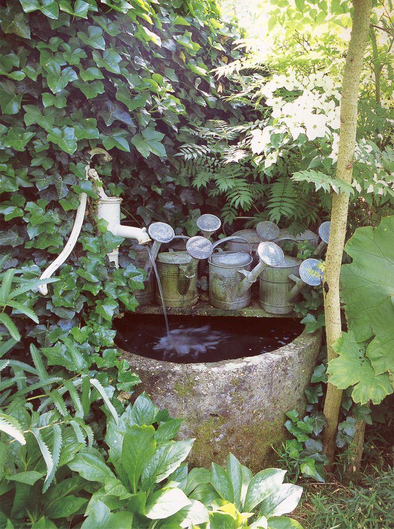 Garden water features  Pin by Gloria Cain on The Water Garden  Pinterest  Gardens Water