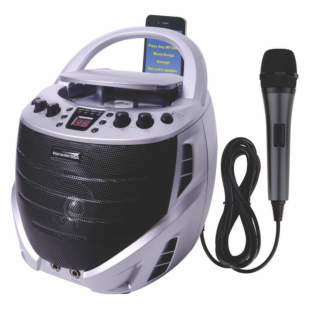 Karaoke USA Portable Karaoke CDG Player (1) #bestkaraokemachine