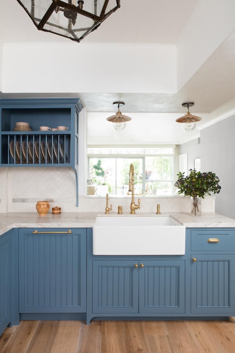 Kitchens That Are Beautiful In Blue Hgtv New Kitchen Cabinets Home Decor Kitchen Kitchen Cabinet Colors