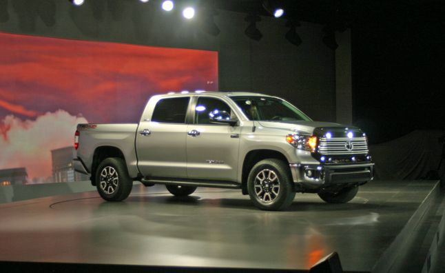2014 Toyota Tundra Gets Sexy New Interior, Same Old Engines. For More, Click