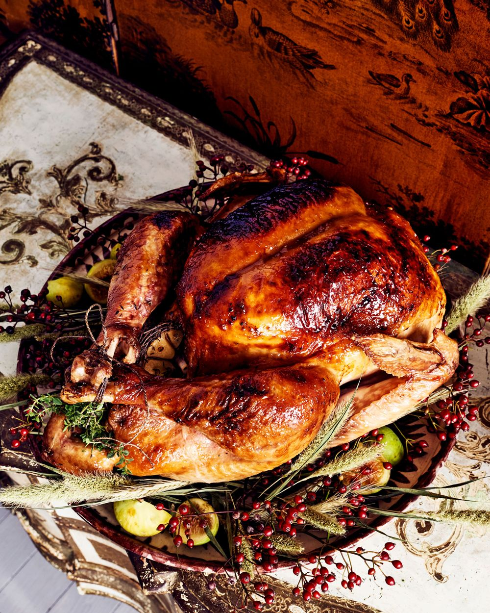 Our Step By Step Guide To Cooking Turkey For Thanksgiving Roasted Turkey Maple Mustard Turkey Recipes