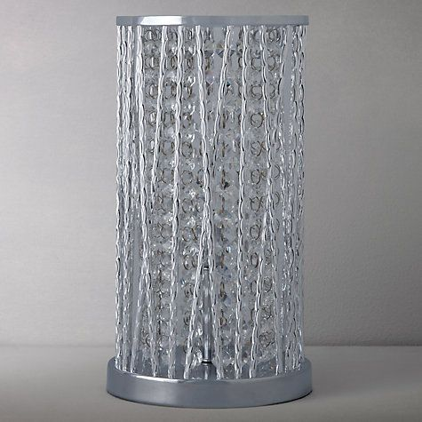 Buy john lewis emilia crystal table lamp clear from our desk table lamps range at john lewis