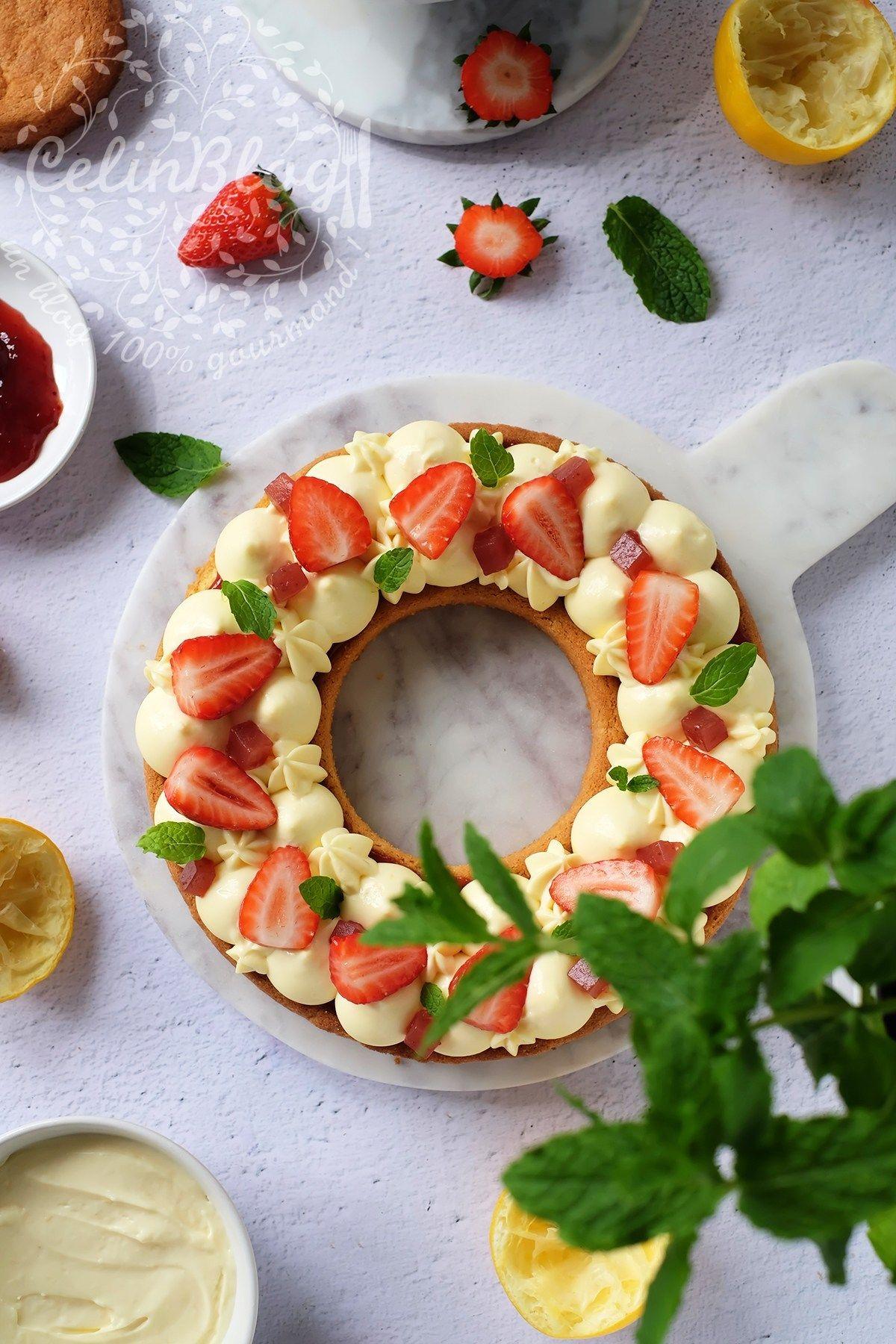 Cake aux fraises tagada (sans colorant !) | Fraises tagada
