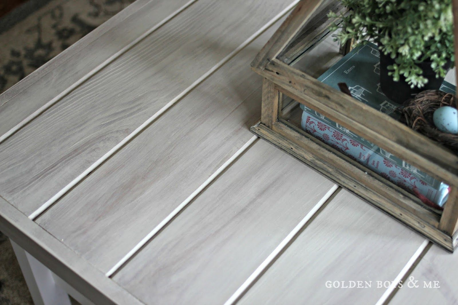 Gray Weathered Wood Look Using Vinegar Stain And Paint Goldenboysandme