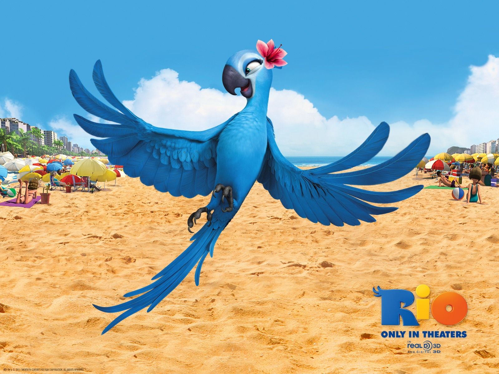 Jewel in Rio Movie Wallpaper - http://www.ekeo.co/jewel-in-rio-movie-wallpaper