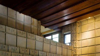 Frank Lloyd Wright's Millard House (La Miniatura)