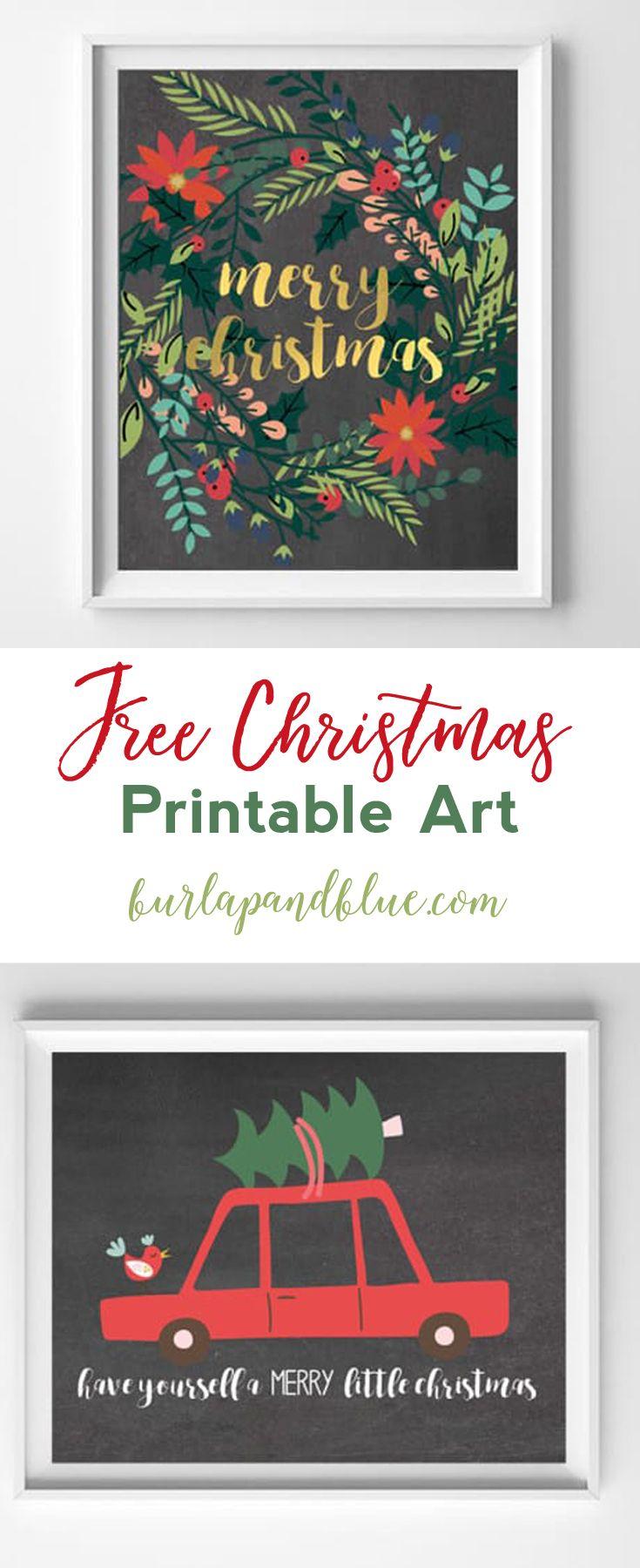Modern Christmas Printable Art Christmas Diy Christmas Printables Free Christmas Printables
