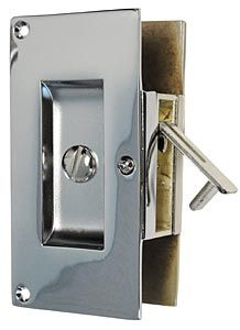 First Impressions International Drb06004 Plc 1 75 First Impressions Contemporary Solid Brass Pocket Door Privacy Latch For 1 3 4in Doors Each Polished C Pocket Doors Pocket Door Hardware Polished Chrome