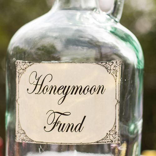 Wedding Honeymoon Ideas: Honeymoon Fund. My Husband And I Do This Every Year With A