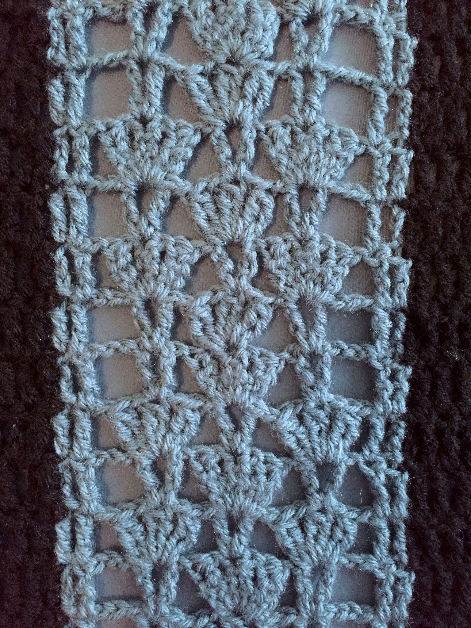 Suvi\'s Crochet: Summer Fans Blanket - (lace afghan) - free crochet ...