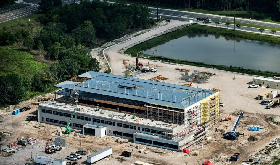 Here's a bird's-eye view of the TGH Brandon Healthplex, a comprehensive ambulatory center, opening early 2017.