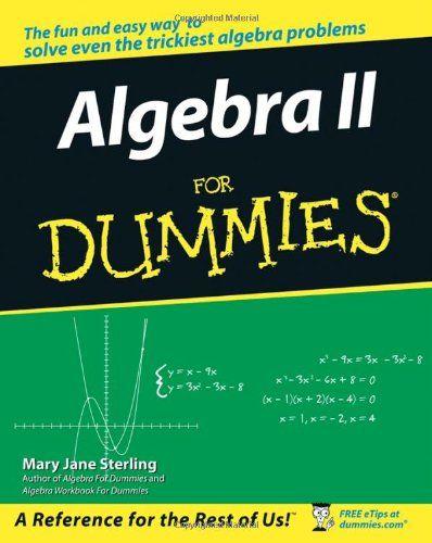 Algebra ii for dummies new non fiction pinterest algebra algebra ii for dummies fandeluxe Images